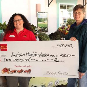 SNAP Wells Fargo Donation