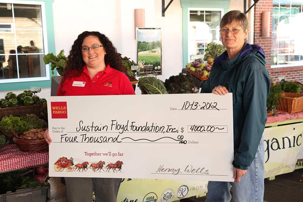 SNAP Wells Fargo Donation