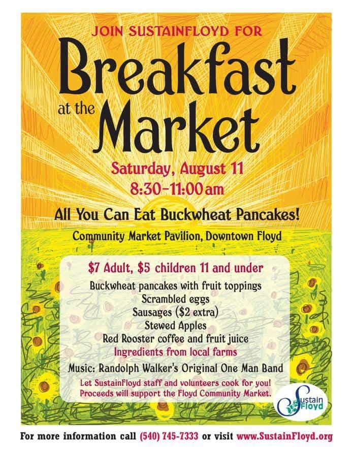 community breakfast flyer