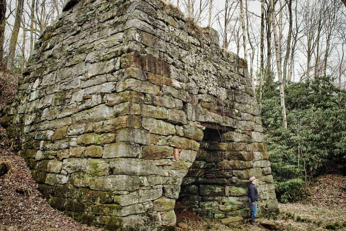 Shelor's Furnace on Old Furnace Road
