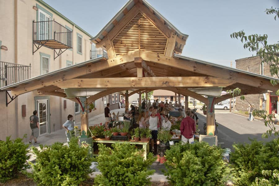 Floyd Community Market Pavilion