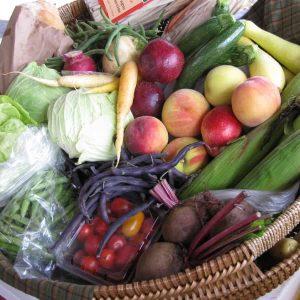 Floyd Farmers Market Basket