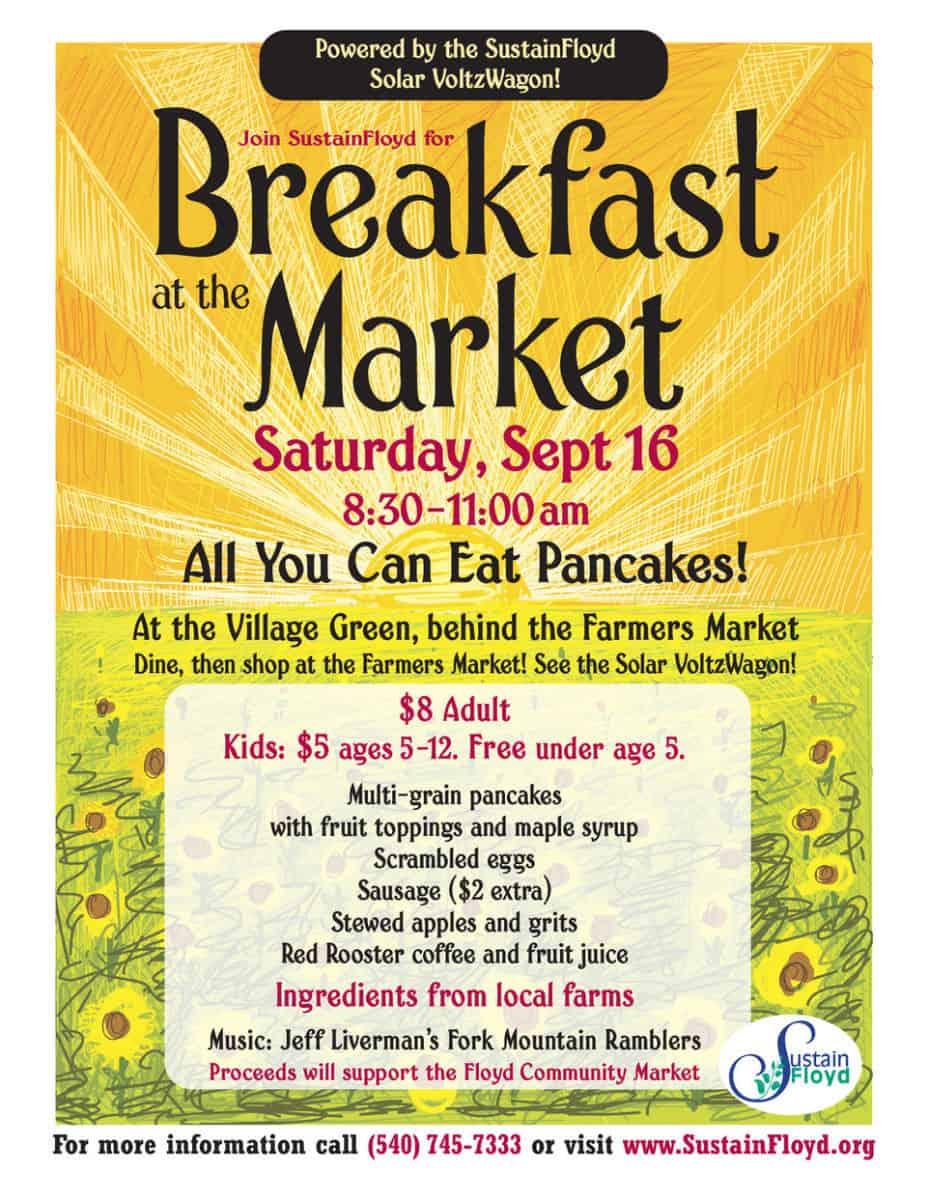 Market Breakfast September 2017